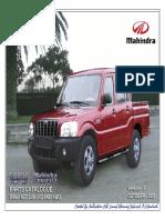 Mahindra Scorpio Pik Up 2.5 L. NEF - Catálogo de Repuestos