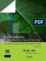 Indicadores de Produccion Verde - CEPAL
