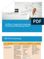 Marketing Airwars Competitive Landscape
