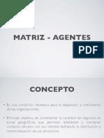 Matriz - Agentes