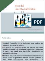 4.-Comportamiento Individual y Motivación