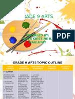 Grade 9-Outline Arts