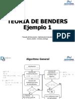 Partición de Benders -Ejemplo 1 - V01