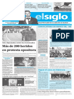 Edición Impresa El Siglo 04-05-2017