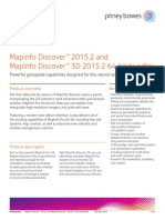 Mapinfo Discover2015.2 Ds