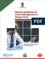 Dengue National Guidelines 2014 Compressed