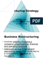 Group 5 Part 1 Restructuring Strategy PPT