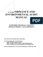 1.Perf & Env Audit Manual1