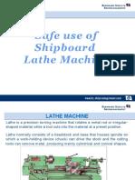 Safe Use of Lathe PPT
