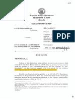 11. Pagaduan v. Csc,11!19!2014,Revised