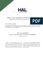 Manuscript-HAL_Study on the Hydraulic Conductivity of Boom Clay