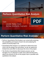 Perform Quantitative Risk Analysis