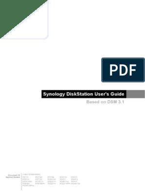 Syno_UsersGuide_NAServer_enu pdf | File Transfer Protocol | Usb