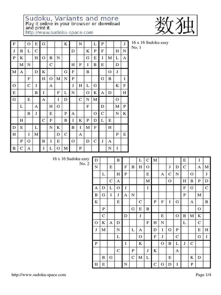 Sudoku 16 download - www motofroptain info
