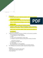 p3 outline