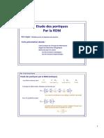 PPT-portiques-RDM