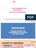 Common Insurances Found in the UAE FIDIC