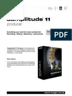 Magix Samplitude 11 Producer Info Uk