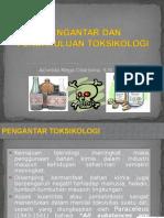 1. Pengantar Dan Pendahuluan Toksikologi
