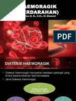 BAB II Haemoragik (Faktor Vaskuler Dan Sel Endotel)