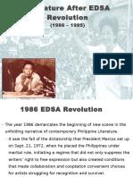 Literature After EDSA Revolution Report