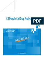 7 CS Domain Call Drop Analysis