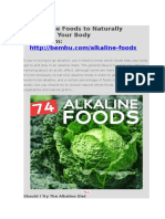 74 Alkaline Foods to Naturally Balance Your Body