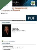 Privacy Program Management