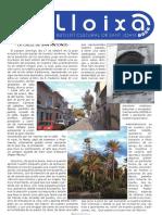 LLOIXA. Número 116, febrer/febrero 2009. Butlletí informatiu de Sant Joan. Boletín informativo de Sant Joan. Autor