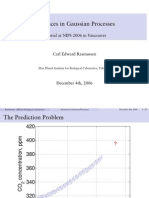 Gaussian Processes in Machine Learning Tutorial
