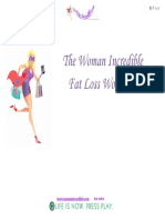 The Woman Incredible Fat Loss Workouts