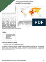 Anexo_Guerras y Conflictos Actuales - Wikipedia, La Enciclopedia Libre