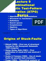 Combinational automatic test pattern generation