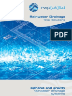 siphonic and gravity rainwater drainage systems