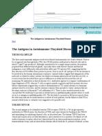 Antigen Dalam Tiroid Autoimun