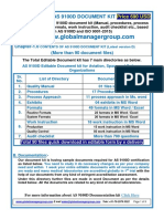AS9100D Documentation Kit- Manual, SOP, exhibits, Procedures in English