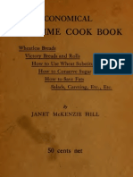 (1918) Economical War-time Cook Book