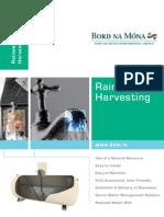 Rainwater Harvesting Systems - Bord na Móna