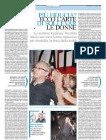 Gianluca Nicoletti e la sollevazione delle donne
