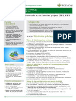 La Gestion Environnementale Et Sociale Des Projets Ees Eies Et Suivi Des Pges