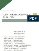 Identifikasi Golongan Alkaloid(1)
