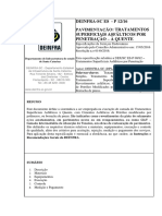 ES-P-12 - Tratamento Superficiais Asfalticos Por Penetracao Quente