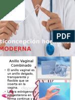 Anticonceptivos modernos