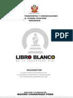 Libro Blanco de la Seguridad Vial del Perú