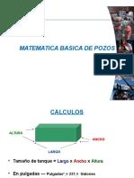Matematica de Pozos