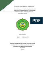 Nirwana - Laporan Individu Praktek Klinik Kebidanan III Nirwana l