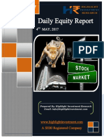 Equity Daily Report 04 May 2017