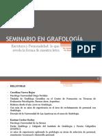 Seminario Grafología