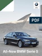 Ficha técnica All-New BMW 530d Luxury