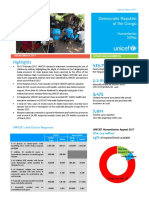 UNICEF DR Congo Humanitarian Situation Report- January-March 2017